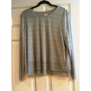 🔥Chico's Glitzy Top